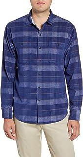 Tommy Bahama Mens Shirt Blue US 3XL Big & Tall Corduroy Button Down