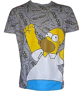 Camiseta & Calcetines para Hombre Homer Simpson WOOHOO.!!!