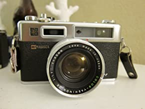 Yashica Electro 35 GSN 35mm Camera with Yashinon DX f/1.7 45mm Lens, Vintage 70s