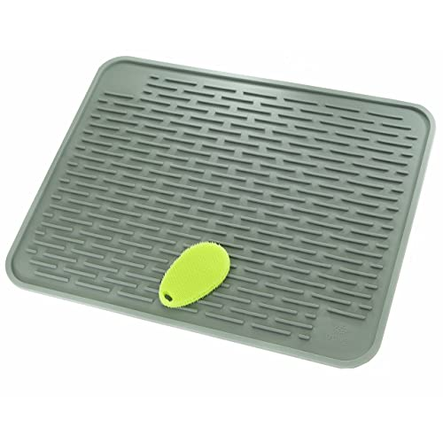 Now Designs Silicone Glass Drying Mat Cactus.Silicone Drying Mat Amazon Com