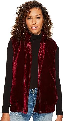 BB Dakota - Withers Velvet Puffer Vest
