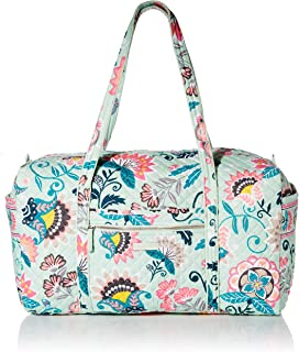 Vera Bradley Women's Signature Cotton Large Travel Duffle Bag