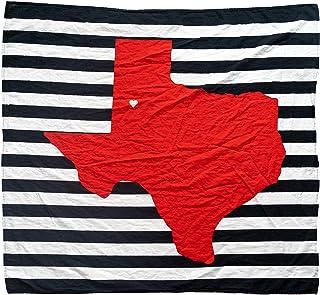 Lubbock Texas babyfilt – 119 cm x 100 cm – 100 % organisk bomullsmuslin – fans av Texas Tech Red Raiders babygåva – lätt s...