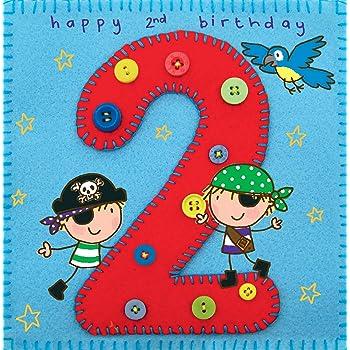 Twizler-Carte d'anniversaire de 2 ans pour un petit garçon, avec ...