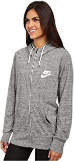 Womens Gym Vintage Full Zip Hoodie