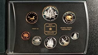 CA 2000 Canada 8 Coin Double Dollar Proof Set in Original Box without COA Proof
