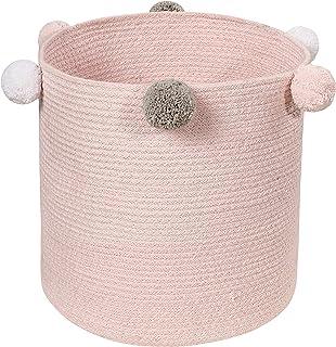Lorena Canals bebé Efervescente Cesta, algodón, Rosa