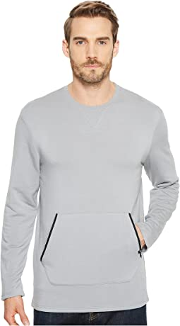 Threads 4 Thought - Feather Fleece Long Sleeve Crew