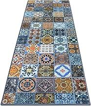 Tapijtloper Bonita   patchwork patroon in vintage look   vele maten   modern tapijt loper voor hal, keuken, slaapkamer   l...