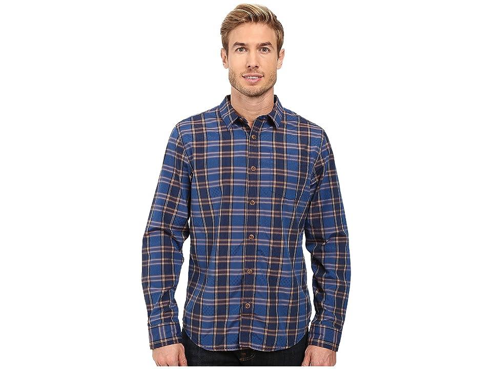 Prana Yearby Slim Shirt (Nautical) Men