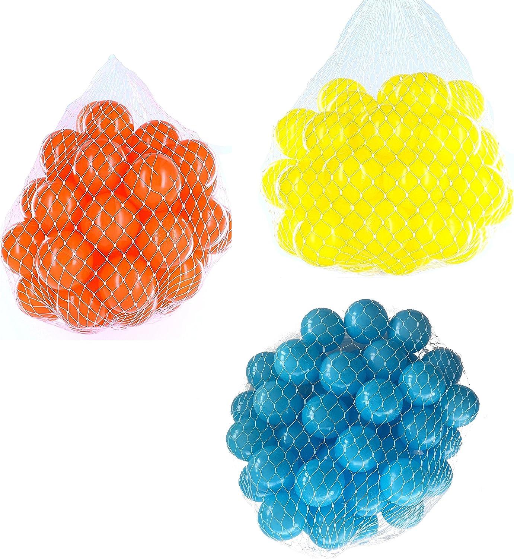 las mejores marcas venden barato Pelotas para pelotas baño variadas Mix Mix Mix con turquesa, Amarillo y Naranja Talla 2100 Stück  opciones a bajo precio