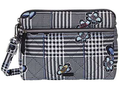 Vera Bradley Performance Twill Triple Compartment Crossbody (Bedford Plaid) Handbags