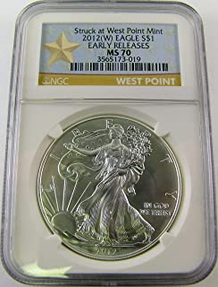 2012 west point silver eagle