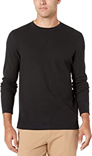 Men's Slim-fit Long-Sleeve Waffle Shirt