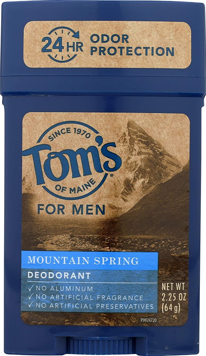 Tom's of Maine Natural Long Seasonal Wrap Introduction Sp High quality new Lasting Mountain Stick Deodorant