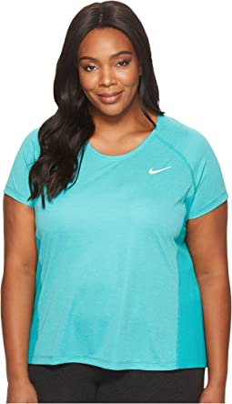 Nike - Dry Miler Short Sleeve Running Top (Size 1X-3X)