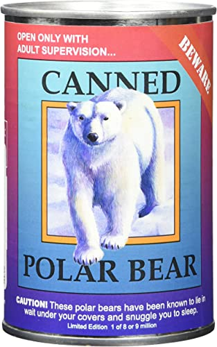 Canned Critter  Polar Bear by Northern Gifts Inc.