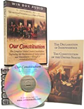 Our Constitution - The Complete United States Constitution Audio Book (U.S. Constitution, Declaration of Independence, Bill of Rights, and Amendments)