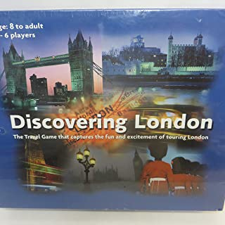 Discovering London: The Travel Game that Captures the Fun and Excitement of Touring London