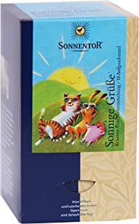 Sonnentor Tee Sonnige Grüße Doppelkammerbeutel, 2er Pack 2 x 45 g - Bio