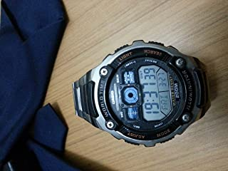 Casio Casual Watch For Boys Digital Stainless Steel - Ae_2000w