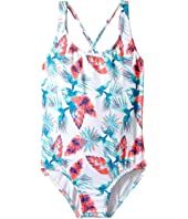 Roxy Kids - Salty Shade One-Piece (Big Kids)