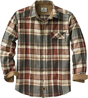 mens heavy weight flannel shirts