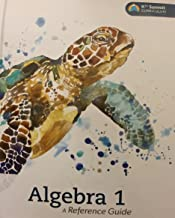 Algebra 1 A Reference Guide K12 Summit Curriculum