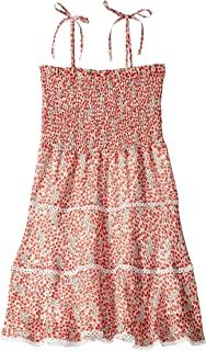Girl's Cindy Shirred Dress (Big Kids)