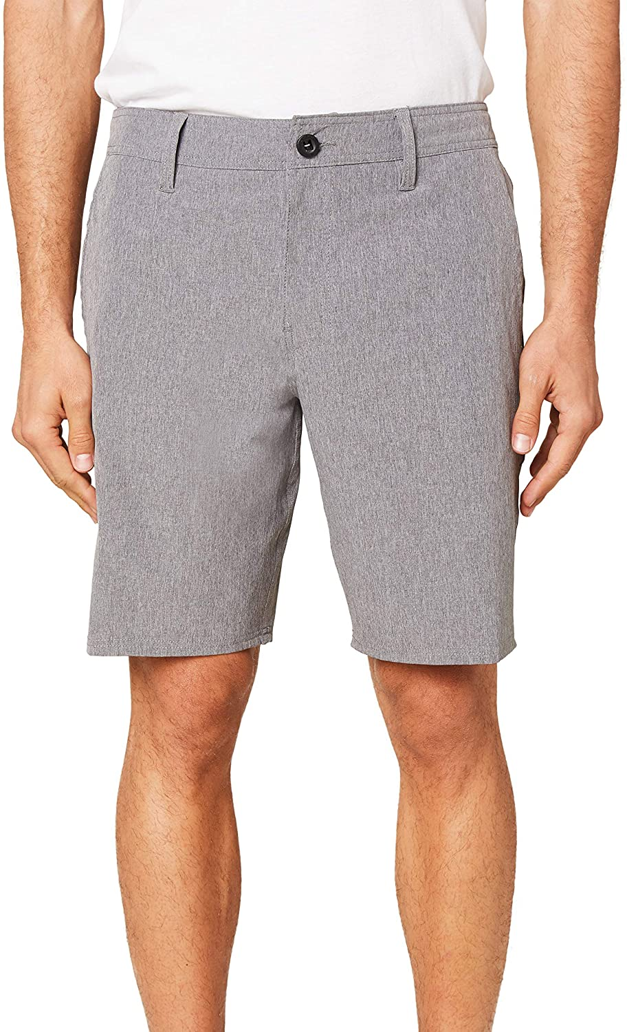 O'NEILL Men's Water Resistant Hybrid Stretch Walk Short, 19 Inch Outseam   Mid-Length Short  