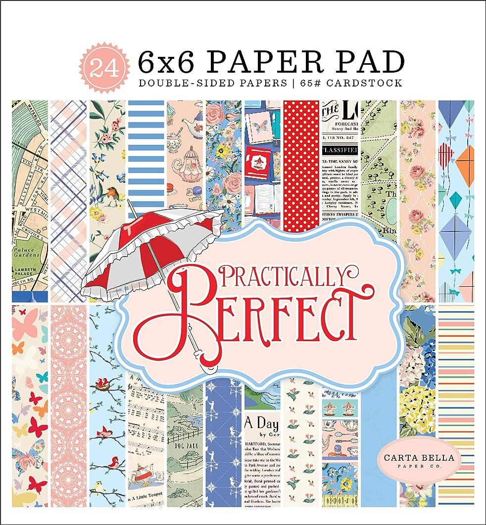 Carta Bella Paper Company Practically Perfect 6x6 Paper Pad
