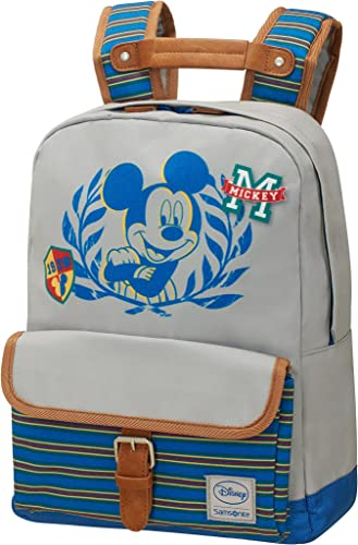 Disney Samsonite Stylies S+ PRE-S Sac à Dos Enfant, 36 cm, 13,5 L, Mickey College