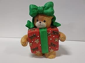 Lucy & Me Series (Enesco) **Teddy Bear Dressed as Wrapped Box Figurine ** 206520