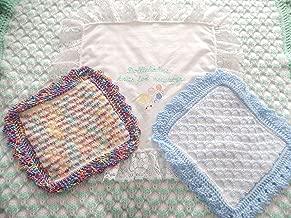 DollieBabies Knitting Pattern 47 - Memorial Size to Adult Lap Blanket