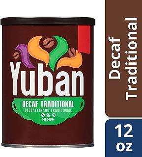 Yuban Traditional Medium Roast Decaf Ground Coffee (12 oz Canister)