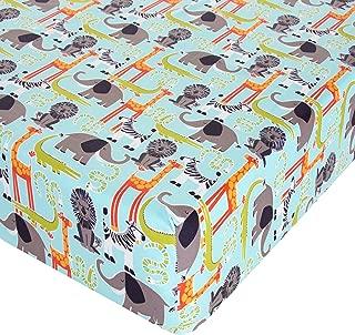 Glenna Jean Jungle Babies Crib Sheet Fitted 28
