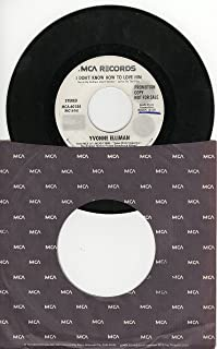 Yvonne Elliman: I Don't Know How to Love Him b/w Superstar (by Carl Anderson)