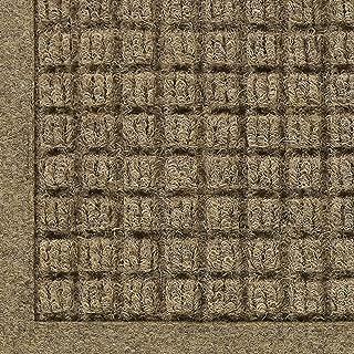 WaterHog Fashion Commercial-Grade Entrance Mat, Indoor/Outdoor Charcoal Floor Mat 3' Length x 2' Width, Camel by M+A Matting