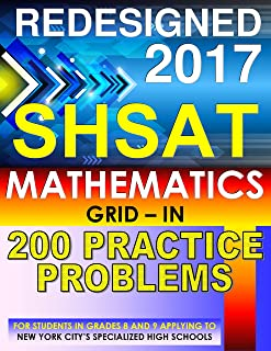 SHSAT Mathematics – 200 GRID-IN Practice Problems