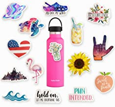 Trendy Teen Sticker Pack (Series 1), Waterbottle Stickers Pack, Cute Artsy Stickers Packs, Ipad Stickers, Backpack Stickers, Made in USA