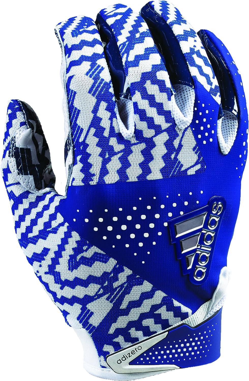 adidas Adizero 5.0 Football Oklahoma City Mall Gloves Navy Small White Max 60% OFF