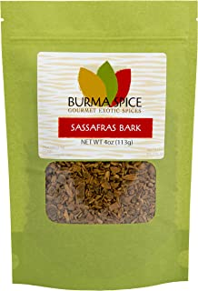 Sassafras Bark | 100% Natural | Perfect for brewing tea | Kosher Certified | (4 oz.)