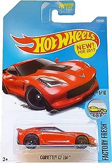 Hot Wheels 2017 Factory Fresh Corvette C7 Z06 217/365, Red
