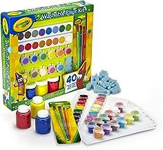 CRAYOLA- Set Pinturas Kids 40 pzas 31x30, Multicolor (54-0155)