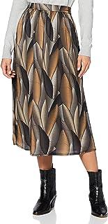 Mexx Long Skirt Leaf Printed Falda para Mujer