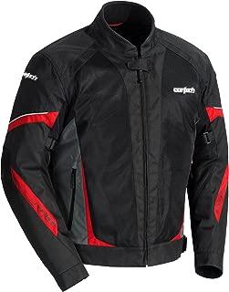 Cortech VRX Air 2.0 Mens Street Motorcycle Jacket - Black/Gunmetal/Red - 2X-Large