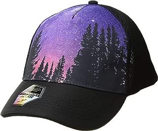 5 Panel Trucker Hat, Black