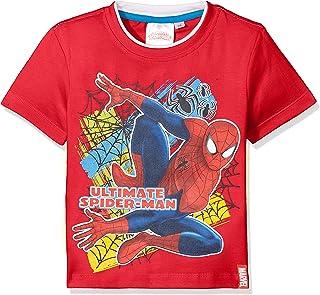 Spiderman Multicolor Web Camiseta para Niños