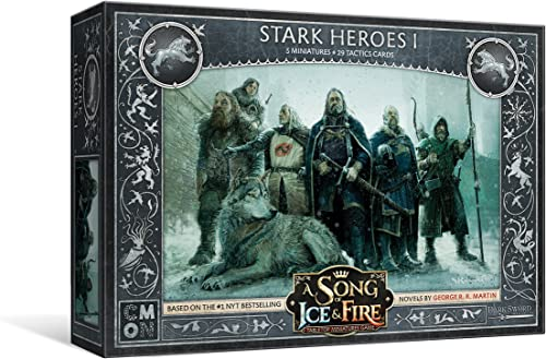 muchas concesiones CMON A Song of Ice and Fire - Stark Stark Stark Heroes  1 - English  80% de descuento