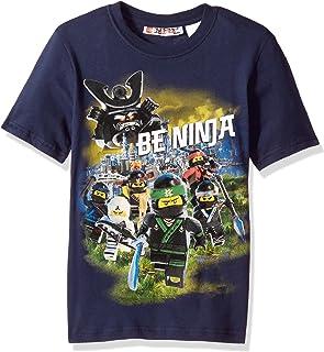Kids Lego Evolution T Shirt-Garçons Filles Film LEGO Briques Top Cadeau-Noir